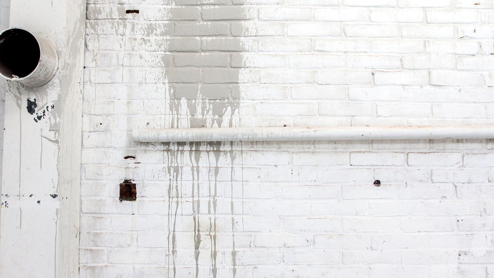 Studio industrial wall